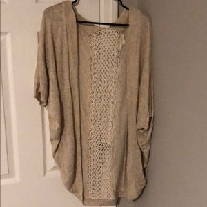 Sweaters - Laced detail cardigan